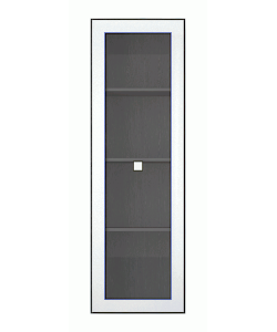 Витрина навесная-1W Размер: 520*345*1620 мм