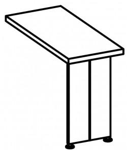 Стол приставной 9504 Размер: 1030*460*760 мм