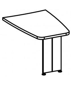 Брифинг-приставка 9513 Размер: 1200*680*760 мм