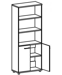 Шкаф для документов 9102 Размер: 800*400*2020 мм