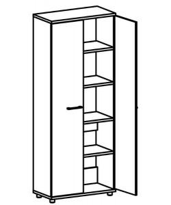 Шкаф для документов 9103 Размер: 800*400*2020 мм