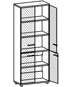 Шкаф для документов 9105 Размер: 800*400*2020 мм