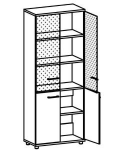Шкаф для документов 9106 Размер: 800*400*2020 мм