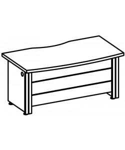 Стол рабочий 9506 Размер: 1600*800*760 мм