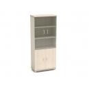Шкаф со стеклом К-8 Размер: 854*442*2080 мм