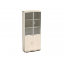 Шкаф со стеклом в раме К-57 Размер: 854*442*2080 мм