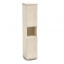 Шкаф узкий с нишей К-12 Размер: 430*442*2080 мм