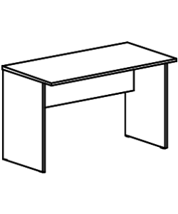 Стол рабочий А-003 Размер: 1400*730*760 мм