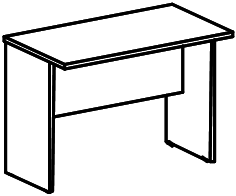 Стол приставной B-810 Размер: 800*450*570 мм
