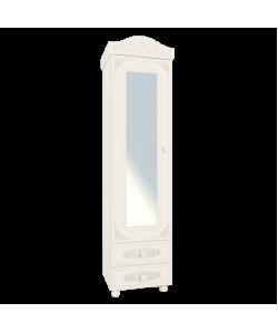 Шкаф-пенал АС-1 с зеркалом Размер: 532*416*2060 мм