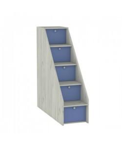 Лестница с ящиками Тетрис-1 308. Размер: 368*1158*1229 мм.