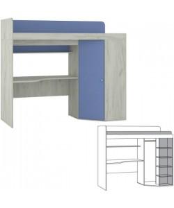 Кровать-чердак Тетрис-1 345. Размер: 2039*838*1760 мм.
