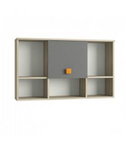 Шкаф навесной Доминика 455 1026*234*612 мм