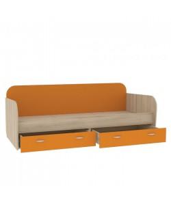 Кровать Ника 424. Размер: 2038*898*727 мм.