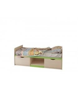Кровать с ящиками №12 Размер: 1900*870*710 мм.