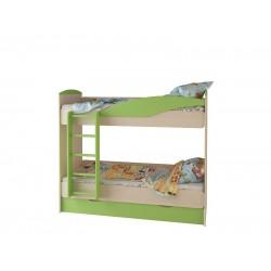 Кровать 2-х ярусная с ящиком Размер: 1900*774/877*1640 мм.