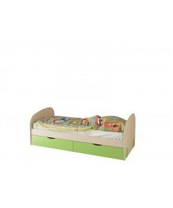 Кровать без ящиков № 28.1 Размер: 1908*885*660 мм.
