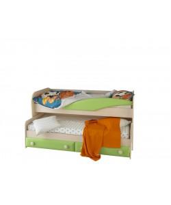 Кровать 2-х ярусная Размер: 1976*960*1000 мм.