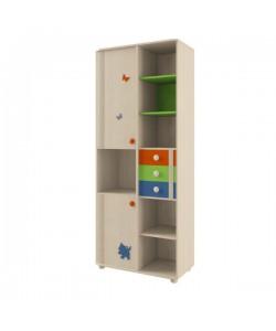 Шкаф для книг №106 Размер: 874*455*2186 мм.