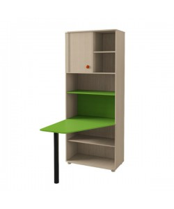 Шкаф для книг №116 Размер: 670*874*2186 мм.