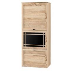 Шкаф навесной № 177 Размер: 550*340*1343 мм.