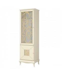 Шкаф с витриной МН-120-01 Размер: 640*440*2050 мм