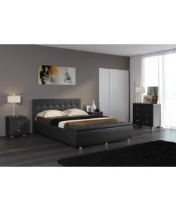 Кровать Veda 1 с пуфом