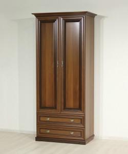 Шкаф двухсекционный 1014*605*2230 мм.