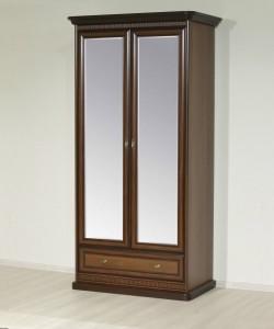 Шкаф 2-х секционный 1132*632*2235 мм.