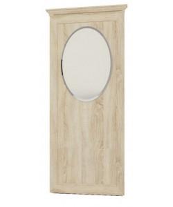 Овальное зеркало на щите № 216 Размер: 894*65*2047 мм.