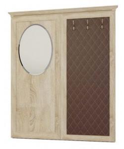 Вешалка с овальным зеркалом № 221 Размер: 1730*65*2047 мм.