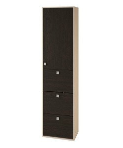 Шкаф с полками и ящиками № 5 Размер: 550*430*2166 мм.