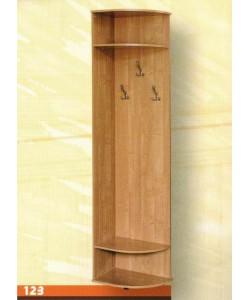 Стеллаж угловой № 123 Размер: 560*390*2180 мм.