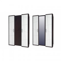 Барселона Шкаф для одежды 1390*600*2060 мм.