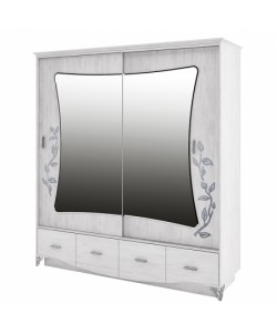Бристоль Шкаф для одежды 2250*610*2080 мм.