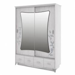 Бристоль Шкаф для одежды 2250*610*1680 мм.