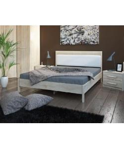 Кровать №211, спинка СМ №20 Размер: 2012*1642*340 мм