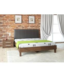 Кровать №93.01, спинка СМ № 2 Размер: 2012*1642*340 мм.