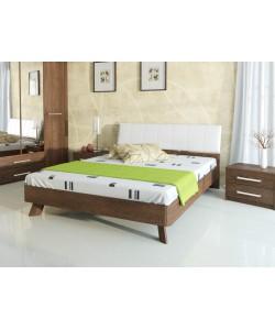 Кровать №69 (старое дерево), спинка № СМ 5 Размер: 2025*1648*340 мм.