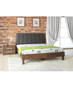 Кровать № 93.01, спинка СМ № 1 Размер: 2012*1642*340 мм.