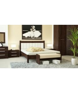 Кровать № 93 (старое дерево), спинка СМ № 10 Размер: 2012*1642*340 мм.