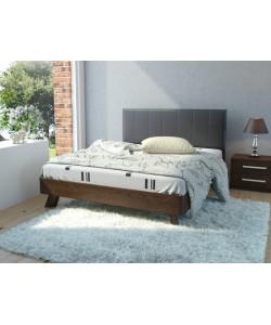 Кровать №69 (старое дерево), спинка № СМ 2 Размер: 2025*1646*340 мм.