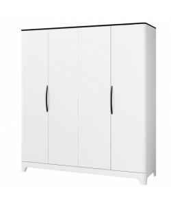 Шкаф для одежды МН-024-04 Размер: 1990*650*2210 мм
