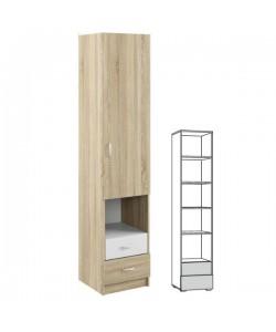 Шкаф-пенал Линда 314. Размер: 420*440*2000 мм.