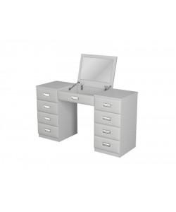 Туалетный стол Como/Veda с зеркалом в столешнице (8 ящиков) Размер: 1500*450*820 мм.