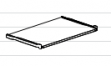 Полка для клавиатуры ЛДСП ПК-24 Размер: 400*618*16 мм