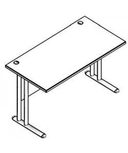 Стол рабочий металл СП-2М Размер: 1200*720*755 мм