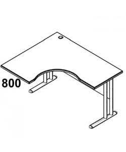 Стол рабочий угловой металл СА-3МЛ Размер: 1400*1200*755 мм