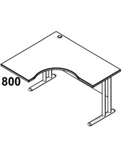 Стол рабочий угловой металл СА-4МЛ Размер: 1600*1200*755 мм