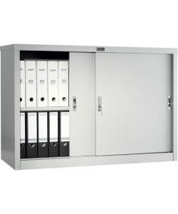 Шкаф для офиса АМТ-0812 купе, размер: 1215*458*832 мм.